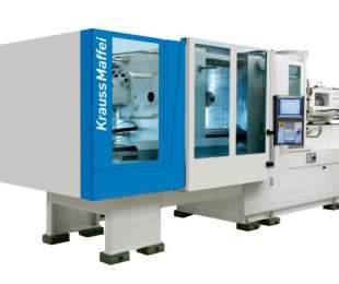 We have expanded the range of Injection Machine, Krauss Maffei 250/1400 CX